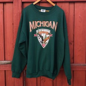 Vintage 80s 90s Michigan sweatshirt XXL